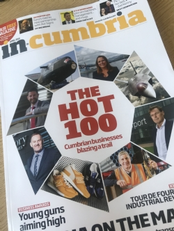 In Cumbria's Hot 100 edtion