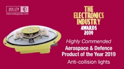 Oxley's Electronics Industry Awards 2019 High Commended Certificate