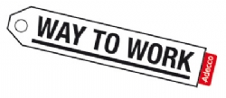 Adecco Way to Work logo