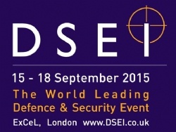 DSEI - The World Leading Defence Security Event 2015 logo