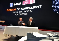 Oxley Signs Business Agreement with Saab