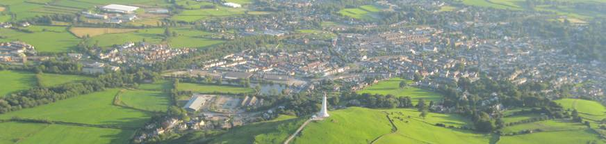 Aerial view of Ulverston
