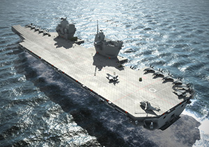 Oxley aircraft carrier case study