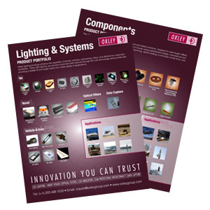 Components and Lighting Systems Product Portfolios
